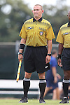 23 August 2015: Assistant Referee Karl Kummer. The University of North Carolina Tar Heels played the Fresno State Bulldogs at Fetzer Field in Chapel Hill, NC in a 2015 NCAA Division I Women's Soccer game. UNC won the game 7-0.
