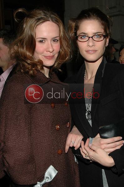Sara Paulson & Amanda Peet