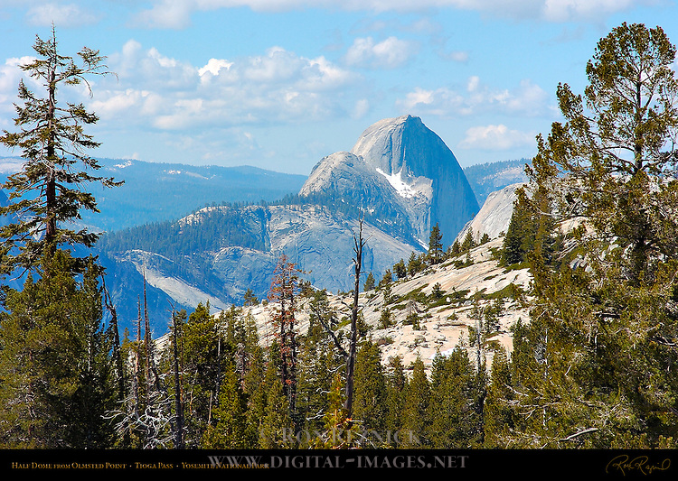 Half Dome from Olmsted Point on the Tioga Road, Tioga Pass, Yosemite National Park