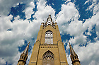 Apr. 30, 2011; Basilica of the Sacred Heart steeple...Photo by Matt Cashore/University of Notre Dame