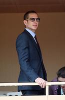 Prince Andrea Casiraghi attends Rafael Nadal match at Monte-Carlo Rolex Masters