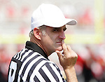 9 September 2006: Referee Scott McElwee. Akron defeated North Carolina State 20-17 at Carter-Finley Stadium in Raleigh, North Carolina in an NCAA college football game.