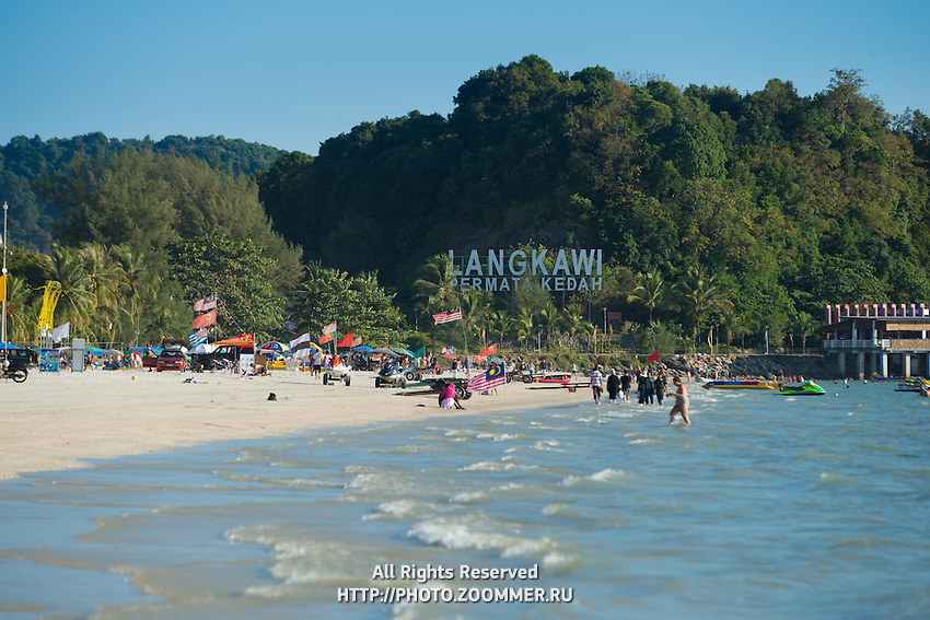 Pantai Cenang Beach, Langkawi, Malaysia