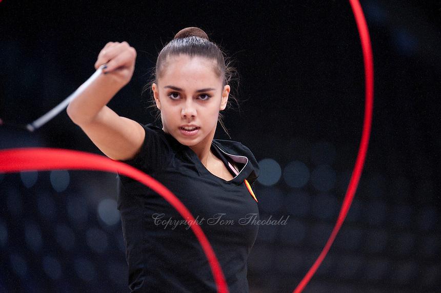 September 05, 2015 - Stuttgart, Germany - MARGARITA MAMUN of Russia performs in training at 2015 World Championships.