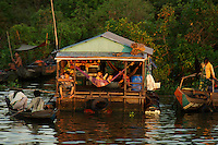 Tonle Sap Lake Province of Siem Reap Cambodia