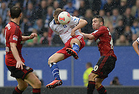 FUSSBALL   1. BUNDESLIGA   SAISON 2012/2013    34. SPIELTAG Hamburger SV - Bayer 04 Leverkusen                      18.05.2013 Maximilian Beister (li, Hamburger SV) gegen Daniel Carvajal (re, Bayer 04 Leverkusen)