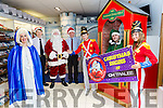 Pictured at the launch of CH Christmas parade which takes place at 2pm on Saturday 26th November in Tralee, with Peter Harty and Kevin Reardon (General Manager), Santa, and the Parade Characters
