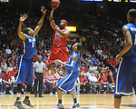 Mississippi's Zach Graham (32) vs. Memphis in NIT second round basketball action at the C.M. &quot;Tad&quot; Smith Coliseum in Oxford, Miss. on Friday, March 19, 2010. Ole Miss won 90-81.