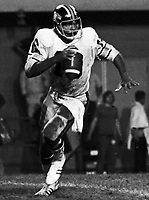 Karl Douglas BC Lions quarterback 1974 Copyright photograph Scott Grant