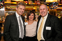 Pictured is Maria Moore of Cartwright King in the middle of Roger Galbraith of Lloyds TSB (left) and Dave Mackrill of Key Funding Solutions