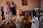 Cynthia Lewis is owner of the Dressed Like That boutique in Reno, Nevada's Midtown district, July 6, 2012.
