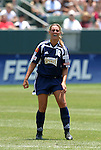 27 June 2004: Julie Fleeting. The San Diego Spirit defeated the Carolina Courage 2-1 at the Home Depot Center in Carson, CA in Womens United Soccer Association soccer game featuring guest players from other teams.