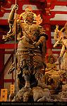 Zochoten, Shitenno Deva King of the South, Mikkyo Sculpture Mandala, Kodo Lecture Hall, Toji East Temple, Kyoto, Japan