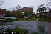 Brooklyn, New York<br /> October 29, 2012<br /> <br /> The Gowanus Canal overflows its banks at 6 p.m., flooding streets as Hurricane Sandy hits full force.
