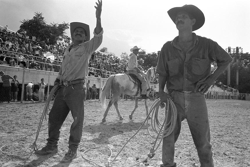 Elma's Puro Rodeo Cubano at the Parque Lenin, Havana, Cuba, August 2001