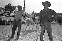 Elma's Puro Rodeo Cubano at the Parque Lenin, Havana, Cuba, August 2001