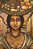 Vendedora de Fruta by Salvador Salazar Arrué (Salarrué, 1899-1975), Museo de Arte de El Salvador (MARTE), San Salvador, El Salvador