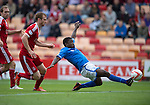 Aberdeen v St Johnstone...31.08.13      SPFL<br /> Nigel Hasselbaink misses a sitter<br /> Picture by Graeme Hart.<br /> Copyright Perthshire Picture Agency<br /> Tel: 01738 623350  Mobile: 07990 594431