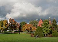 The UVM Green, Fall UVM Campus