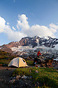 WA09957-00...WASHINGTON - Campsite on Curtis Ridge in Mount Rainier National Park. (MR# K1)