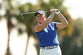 Apr. 2, 2006; Rancho Mirage, CA, USA; Morgan Pressel tees off during the final round of the Kraft Nabisco Championship at Mission Hills Country Club. ..Mandatory Photo Credit: Darrell Miho.Copyright © 2006 Darrell Miho .