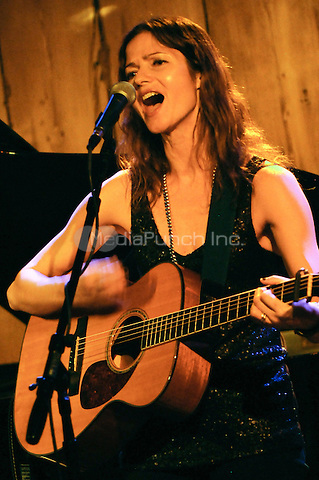 """NEW YORK, NY - JANUARY 27: Actress and singer Jill Hennessy (NBC's """"Law & Order"""" & """"Crossing Jordan"""") performs at Rockwood Music Hall, New York on January 27, 2014. Hennessy released her first CD """"Ghost In My Head"""" in 2009 and is soon to release a new CD """"I Do"""" in the Spring of 2014. Photo Credit: RTNdelano/MediaPunch"""