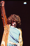 The Who 1972 Roger Daltrey in Tommy at the Rainbow Theatre.© Chris Walter.