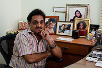 Dr. Nayna H. Patel's husband, Dr. Hitesh Patel, 52, handles legal affairs and consults clients in the Akanksha Infertility Clinic that they run in the small town of Anand, Gujarat, India. The Akanksha Infertility Clinic is known internationally for its surrogacy program and currently has over a hundred surrogate mothers pregnant in their environmentally controlled surrogate houses.