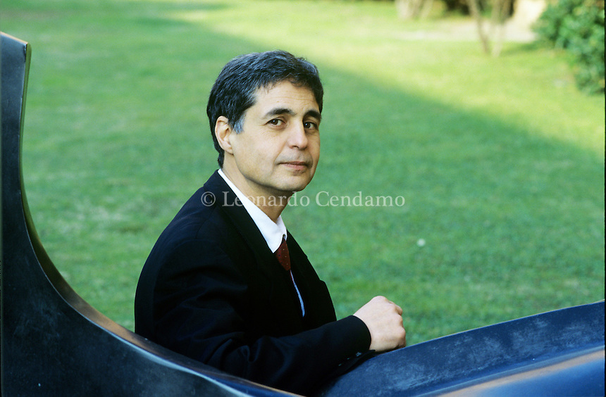 Italy, 2007. Pierre Cohen-Tanugi, Director of Gallimard edition for 9 years.
