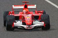 Michael Schumacher of Scudera Ferrari on the track during the 2006 Canadian F1 Grand Prix at Circuit Gilles-Villeneuve in Montreal, Canada