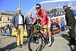 Loic Chetout (FRA) Cofidis at sign on for the 115th edition of the Paris-Roubaix 2017 race running 257km Compiegne to Roubaix, France. 9th April 2017.<br /> Picture: Eoin Clarke | Cyclefile<br /> <br /> <br /> All photos usage must carry mandatory copyright credit (&copy; Cyclefile | Eoin Clarke)