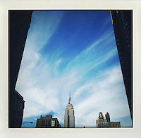 New York, Empire State Building..From the series Fake Polaroids.http://www.stefanfalke.com/#/personal/Fake%20Polaroids/1/.