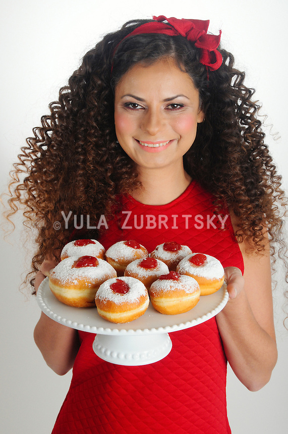 Hanukkah donuts