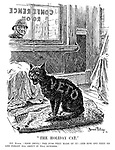 """""""The Holiday Cat."""" PC Punch. """"Poor devil! The fuss they made of it! - And now off they go and forget all about it till October."""""""