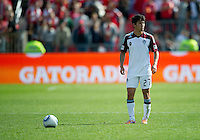17 September 2011: Colorado Rapids defender Kosuke Kimura #27 in action during an MLS game between the Colorado Rapids and the Toronto FC at BMO Field in Toronto, Ontario Canada..Toronto FC won 2-1.