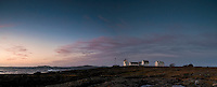 Panorama at Tungenes with the lighthouse.