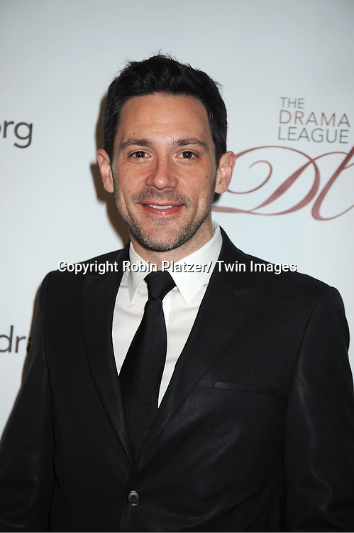 Steve Kazee attends the 78th Annual  Drama League Awards Luncheon at The Marriott Marquis Hotel in New YOrk City on May 18, 2012.