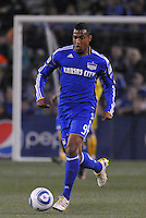 Teal Bunbury...Kansas City Wizards defeated Colorado Rapids 1-0 at Community America Ballpark, Kansas City, Kansas.