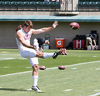 Stanford, CA - April15, 2017:  Charlie Beall at Cagan Stadium.