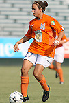 03 July 2008: Carolina's Casey Nogueira. The Charlotte Lady Eagles defeated the Carolina Railhawks Women 3-0 at WakeMed Stadium in Cary, NC in a 2008 United Soccer League W-League regular season game.