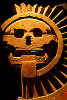 Complejo Muerte sculpture from Teotihuacan, Mexico. National Mueum of Anthropology, Mexico City.