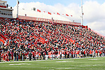 20 October 2012:  Hancock Stadium, 2012, during an NCAA Missouri Valley Football Conference football game between the Missouri State Bears and the Illinois State Redbirds at Hancock Stadium in Normal IL