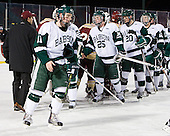 Tom Callahan (Babson - 11), Ryan Smith (Babson - 25), Connor Berto (Babson - 20), Matt Leer (Babson - 12) - The Norwich University Cadets defeated the Babson College Beavers 4-1 on Friday, January 13, 2011, at Fenway Park in Boston, Massachusetts.