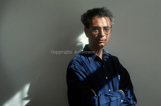 Daniel Del Guidice in 1996, Venice, Italy.