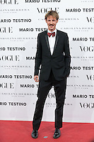 Eloy Azorin at Vogue December Issue Mario Testino Party
