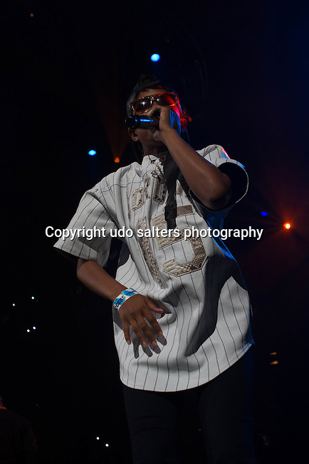 Dej Loaf Performs onstage during Power 105.1's Powerhouse 2014 at Barclays Center, Brooklyn, NY