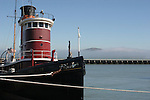 Hercules tug boat in San Francisco