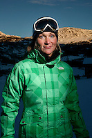 Professional freeride skier and BASE jumper Karina Hollekim tries a sit ski for the first time at the ski resort of Hemsedal. Karina was seriously hurt in a parachute accident in Switzerland in September 2006. She was told by doctors she would never walk again, but Karina refused to accept this and proved the doctors wrong. She is intent on reclaiming as much of her life back as possible.