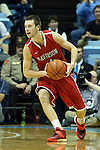 21 December 2013: Davidson's Tyler Kalinoski. The University of North Carolina Tar Heels played the Davidson College Wildcats at the Dean E. Smith Center in Chapel Hill, North Carolina in a 2013-14 NCAA Division I Men's Basketball game. UNC won the game 97-85 in overtime.