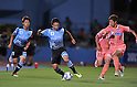 Koji Yamase (Frontale), July 27, 2011 - Football / Soccer : 2011 J.LEAGUE Yamazaki Nabisco Cup, 1st Round 2nd Leg match between Kawasaki Frontale 3-1 Sanfrecce Hiroshima at Kawasaki Todoroki Stadium, Kanagawa, Japan. (Photo by Atsushi Tomura /AFLO SPORT) [1035]